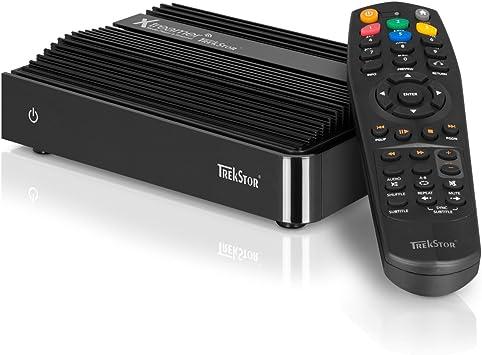 Trekstor TV Kit Moviestation - Receptor multimedia digital con disco duro de 500 GB (6,3 cm (2,5), 5400 rpm, caché de 8 MB): Amazon.es: Electrónica