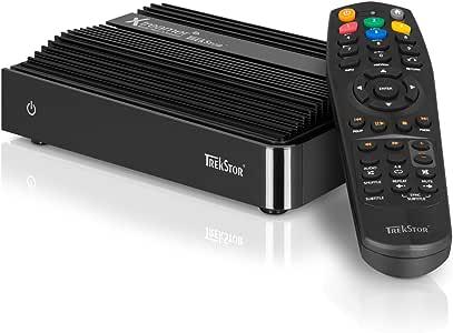 Trekstor TV - Reproductor/sintonizador (640 GB, Variable