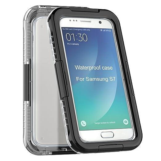 2 opinioni per Custodia Impermeabile per Samsung Galaxy S7 Edge G9350 Telefono Cellulare- Yihya