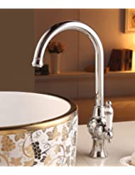 Antique-style faucets/ hot and cold water replaced tap/ brass Swivel Faucet-B