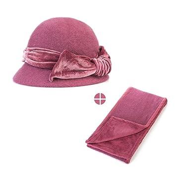 Amazon.com: Para mujer sombreros bufandas conjunto de dos ...