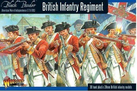 Black Powder - American War Of Independence - British Infantry (28mm) from Black Powder