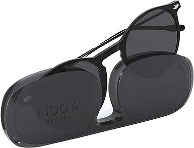 Nooz Gafas de sol polarizadas para hombre y mujer - Protección de categoría 3 - Color negro - con estuche compacto - Colección CRUZ: Amazon.es: Ropa y accesorios