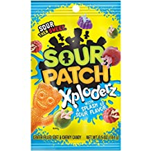 Sour Patch Xploderz Soft and Chewy Candy, 6.5 Oz (Pack of 3)