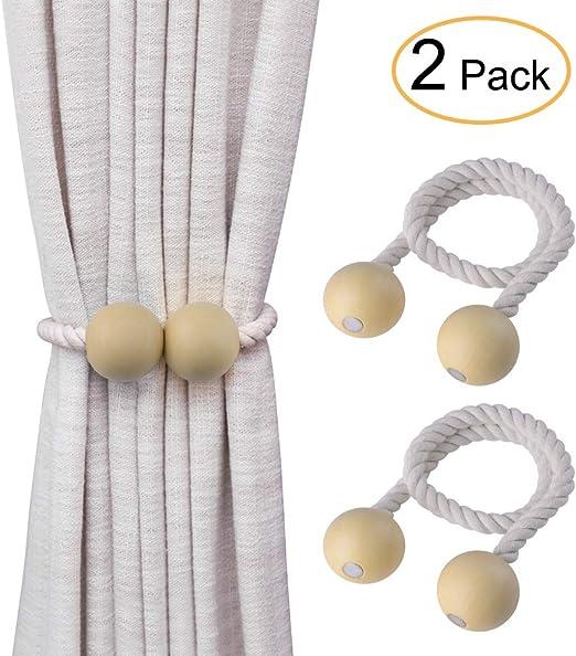 Fenster Vorhang Raffhalter Holdback Krawatte Zurück Magnetischen//Vorhang Halter