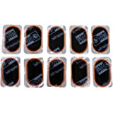 Segolike 10Pcs Puncture Repair Inner Tube Tire Tyre Patches Kit Set For Bike Bicycle