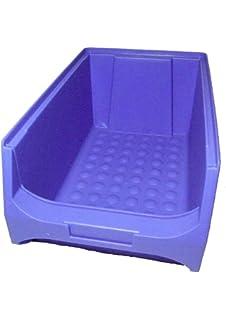 12 Caja visualizable para almacén 235x145x125 mm azul Caja Visualizable Almacén Cajas apilables Cajas Apilables Almacén Caja Almacén caja almacenar: Amazon.es: Bricolaje y herramientas