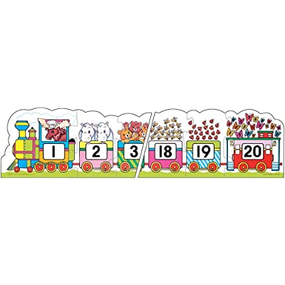 Frank Schaffer Number Train Floor Puzzle: Frank Schaffer Publications: Toys & Games