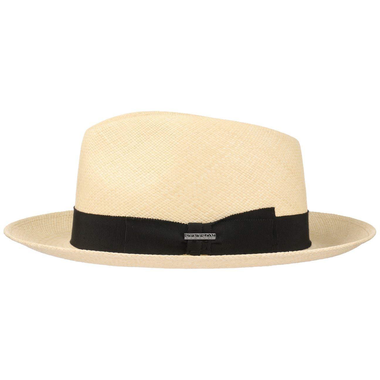 Stetson Cappello Panama Solano Fedora Estivo da Sole Cappelli Spiaggia