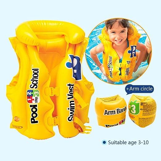 Cute Toddler Baby Floats Buoyancy Vest Life Jackets Safety Training Toy Swimwear