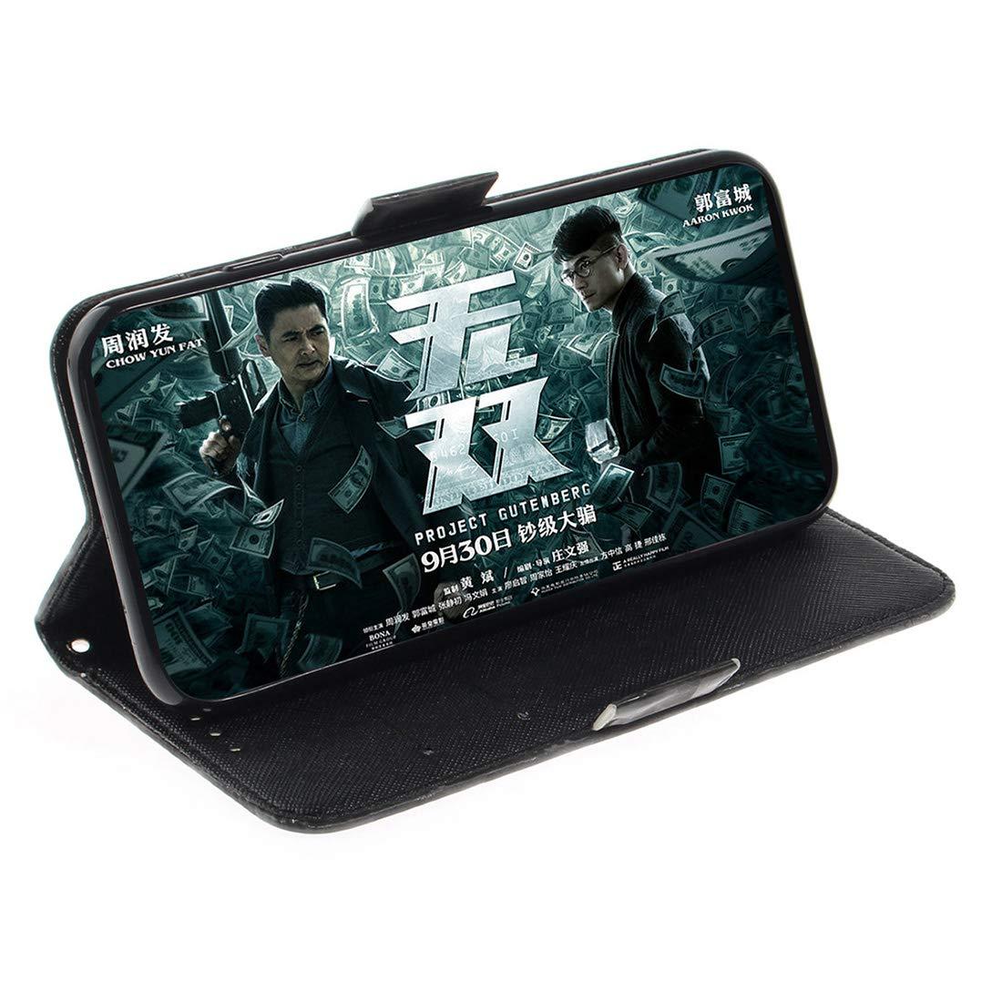 Lyzwn Sony Xperia 10 Funda Cuero PU Billetera Funda Flip Wallet Case Cover Carcasa con Cierre Magn/ético Funci/ón de Soporte Incorporado para Sony Xperia 10 Caso
