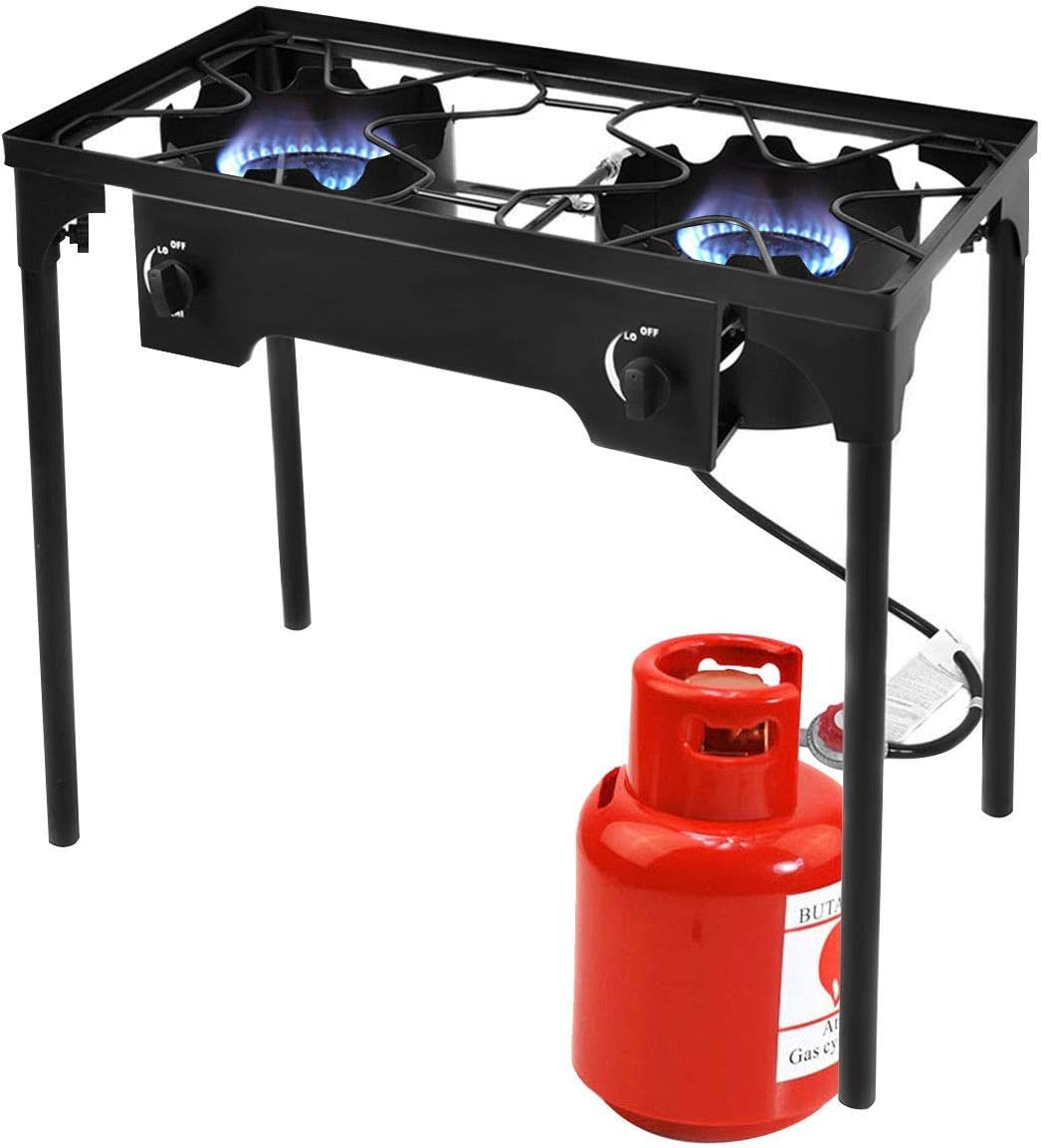 VeenShop You Should Have Double Burner Gas Propano Cooker ...