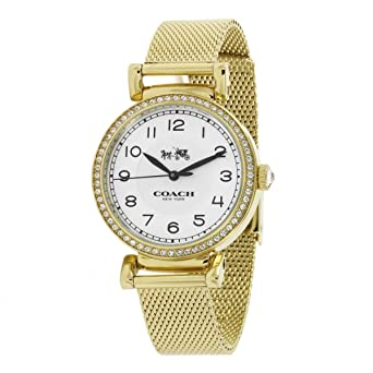 4be3f86ce79 Image Unavailable. Image not available for. Color  Coach Ladies Analog  Casual Quartz Watch 14502652