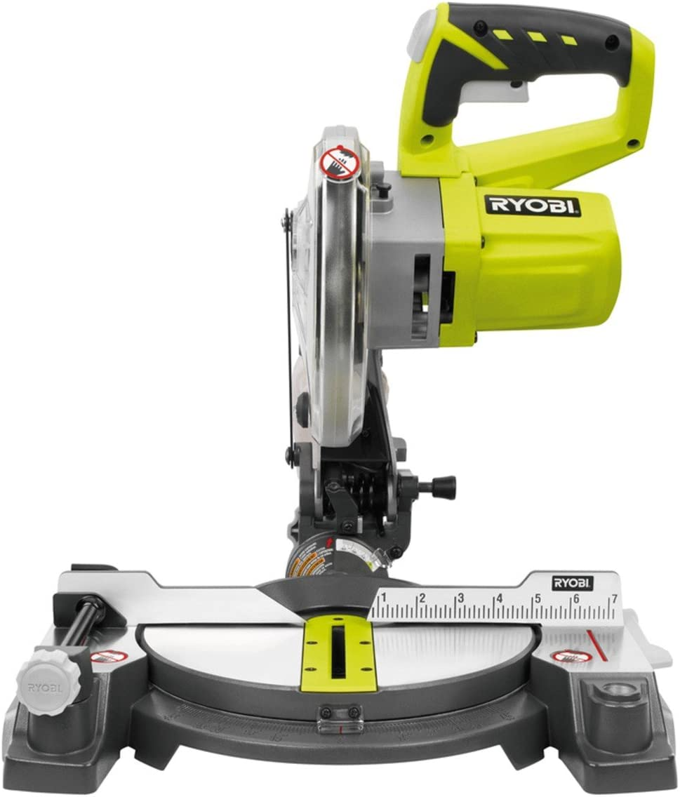 Ryobi 18-Volt ONE 7-1 4 in. Cordless Miter Saw – P551 Tool Only