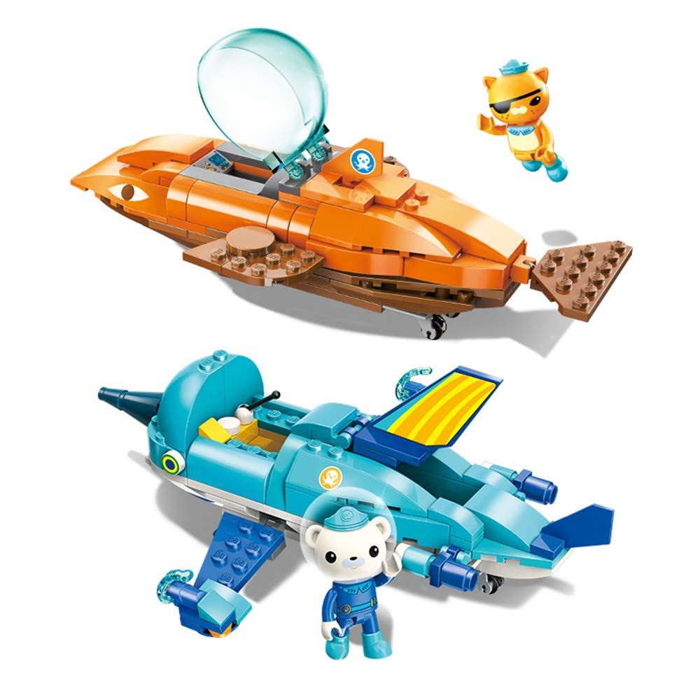 Enlighten Octonauts GUP B & GUP R Speeders Vehículos Barnacles ...