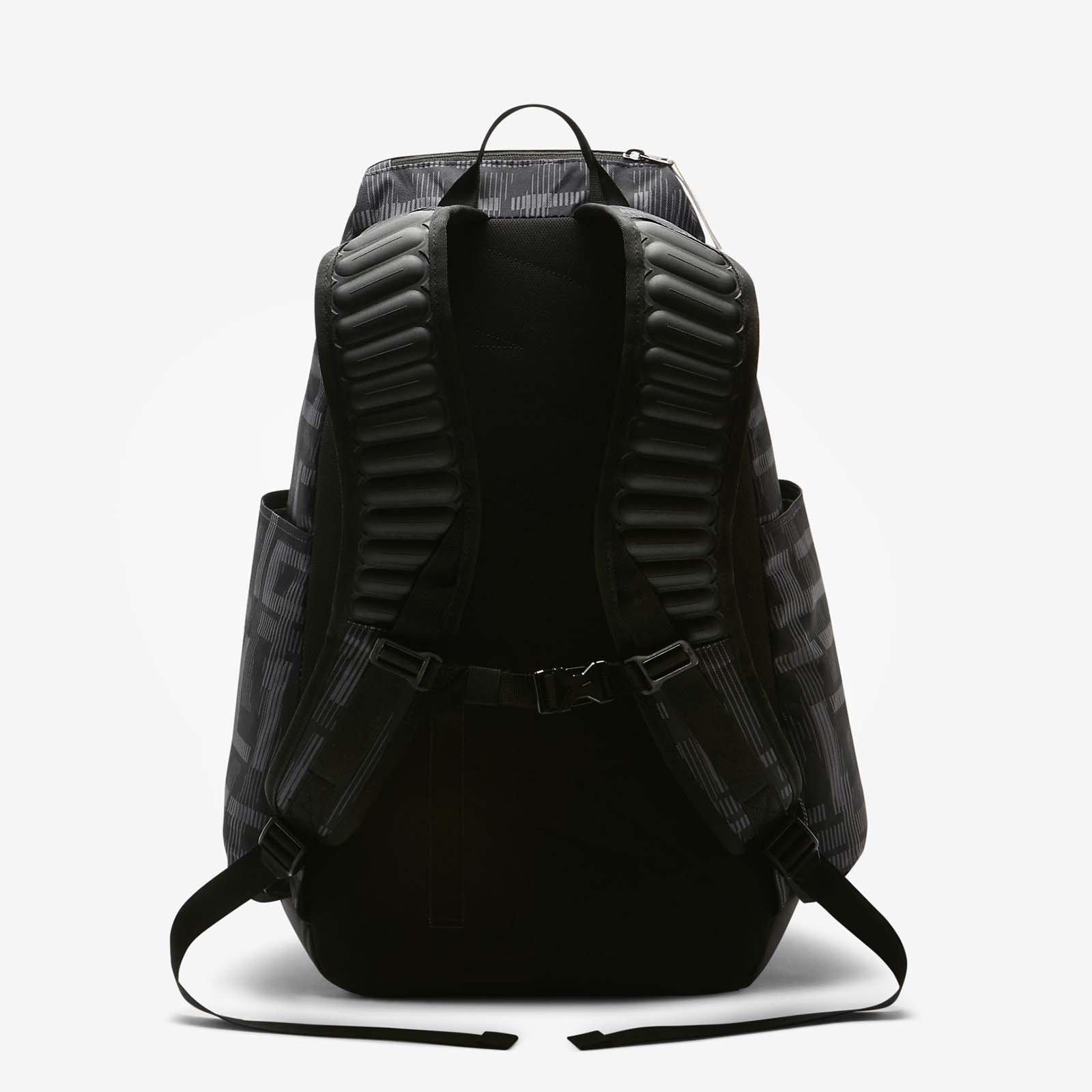 Nike Hoops Elite Max Air Team 2.0 Graphic Basketball Backpack Black/White by NIKE (Image #2)