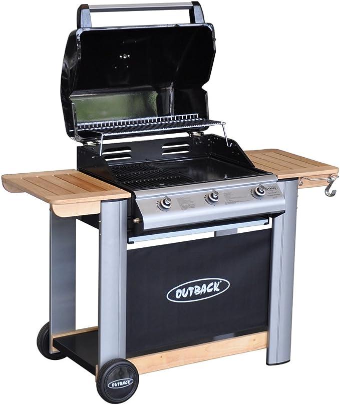 Outback Spectrum Barbecue à gaz 3: : Jardin