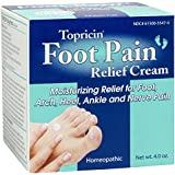 Topricin Foot Pain Relief Cream (4 oz)