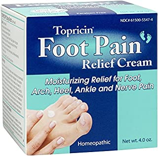 product image for Topricin Foot Pain Relief Cream, 4 oz (Pack of 2)