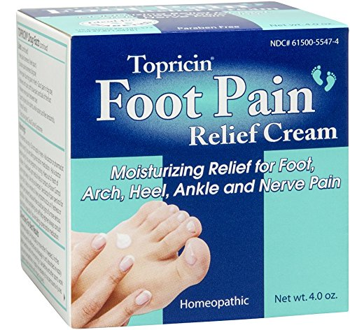 Topricin Foot Pain Relief Cream, 4 (Best Foot Pain Relief Cream)