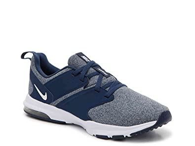 Nike Women s Air Bella Navy White-Wolf Grey Training Shoes ... 43abc0887