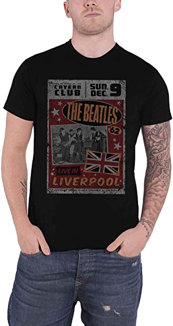 NEW /& OFFICIAL! The Beatles /'Live In Liverpool/' T-Shirt