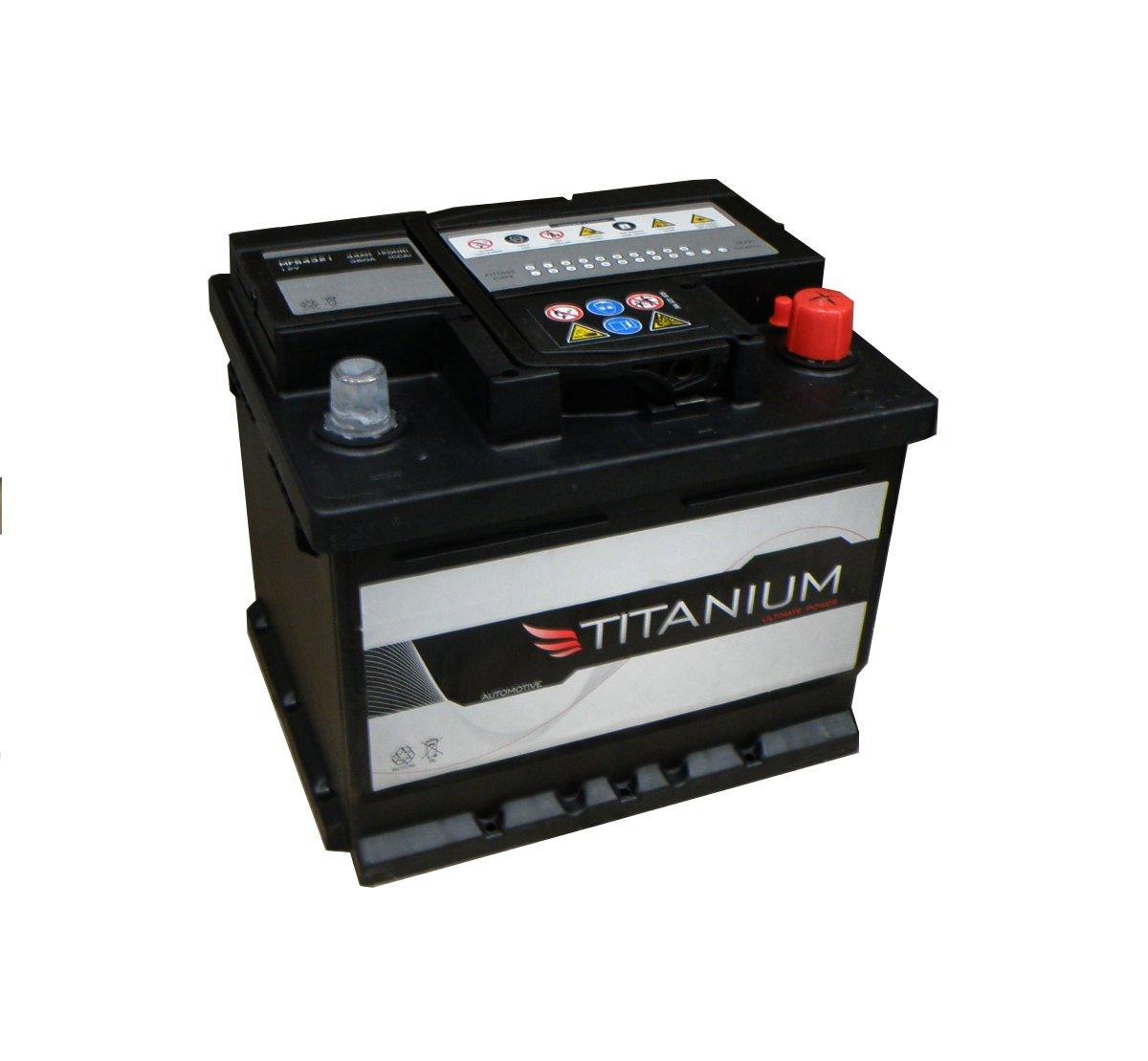 096 Titanium Sealed Car Battery 12V 72Ah - 4 Year Warranty