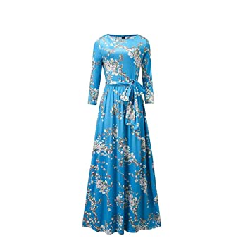 Vestidos de fiesta en azul cielo