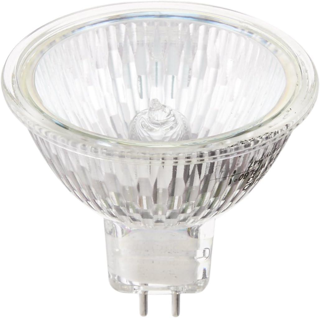 MR16 Ushio BC7885 1003708-50W Halogen Light Bulb Eurostar IR Flood Glass Face 12V Bulbconnection 6,000 Life Hours