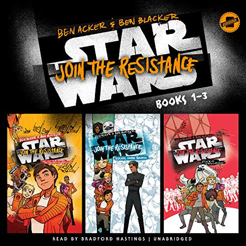 Star Wars Join the Resistance, Books 1-3 (Star Wars Join the Resistance Series)