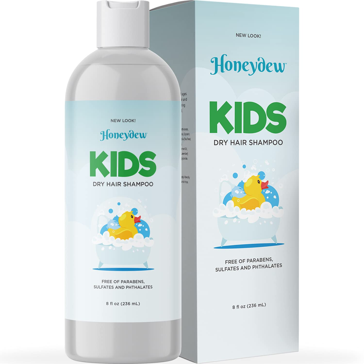Nourishing Kids Shampoo for Dry Scalp - Gentle Dry Scalp Care Shampoo for Kids with Cleansing Essential Oils for Kids - Clarifying Shampoo for Build Up and Dry Flaky Scalp with Tea Tree Oil for Hair