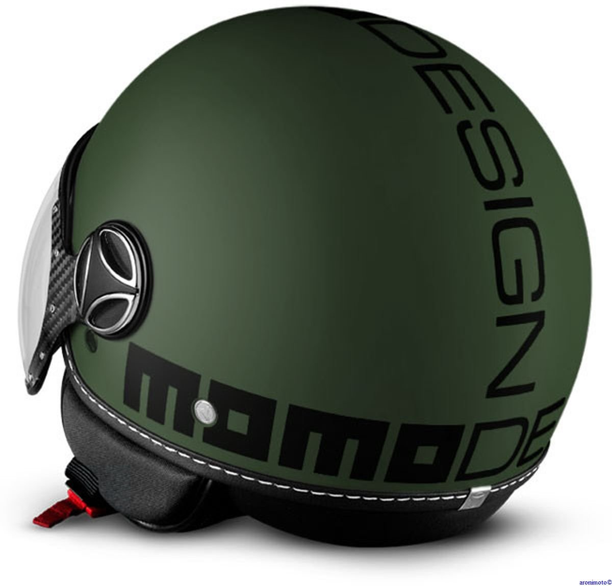 MoMo Design Casque Classic Vert militaire mat Taille S