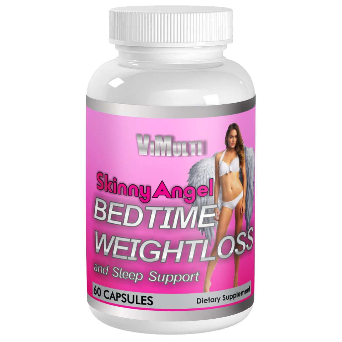 Skinny Angel NIGHT TIME WEIGHT LOSS FAT BURNER SLEEP AID. Night Time Fat Burner With Melatonin Natural Sleep Aid Weight Loss Pills Help End Insomnia While Burning Fat.