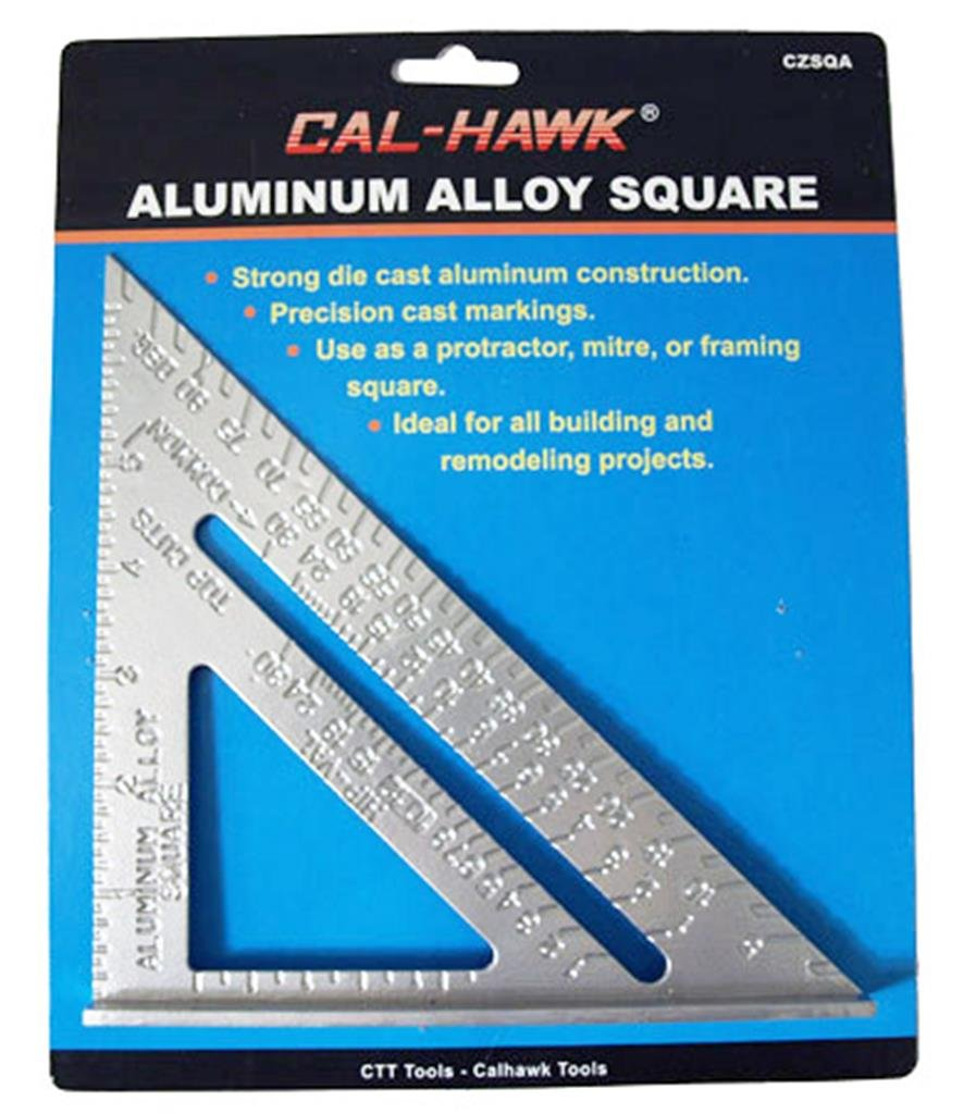 Cal Hawk Tools CZSQA Aluminum Alloy Square