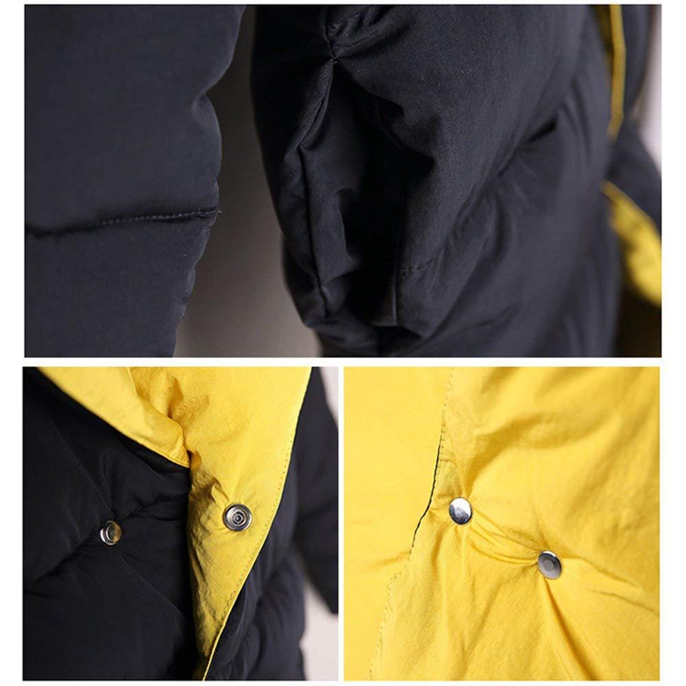 SUNNY Store Kid Girls Down Cotton Hooded Jacket Double-Side Wear Kids Girl Long Winter