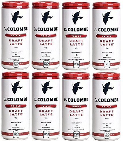 La Colombe Coffee Roasters Draft Latte Triple (Pack of 8)