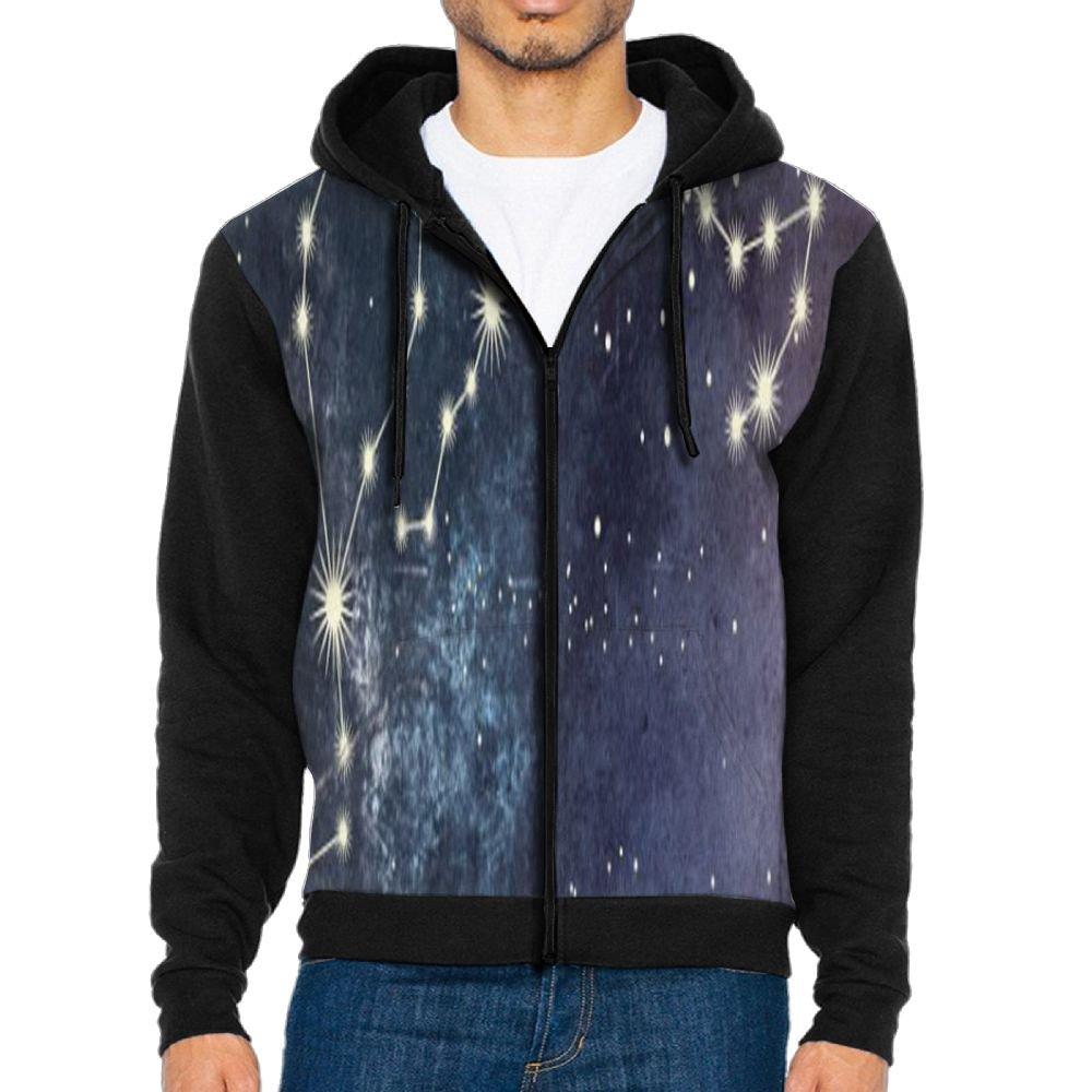 JINYIPI Hoodies For Men Community Astrology Full Zip Fashion