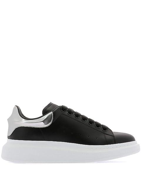 Alexander McQueen Sneakers Uomo 552062WHTQ91081 Pelle Nero ...