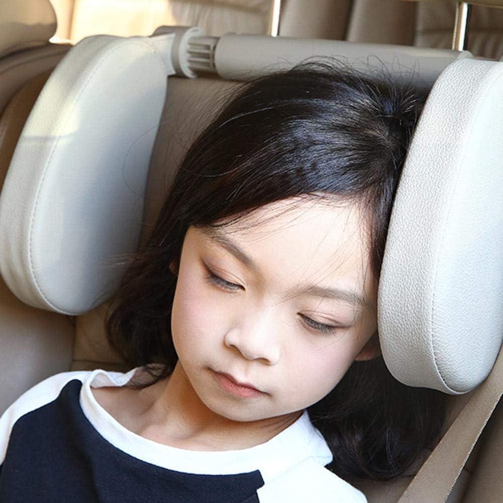 Auto U-f/örmige Kissen Kissen mit dem U-f/örmigen ergonomischen Design Sitz Kopfst/ütze Auto Nackenst/ütze Kissen Sicherheitsgurt Kissen Reise Autozubeh/ör Perfekt f/ür Erwachsene und Kinder