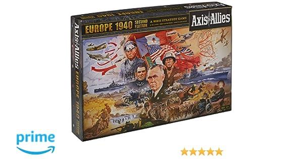 Axis & Allies Europe 1940 - Juego de Mesa (Contenido en inglés ...