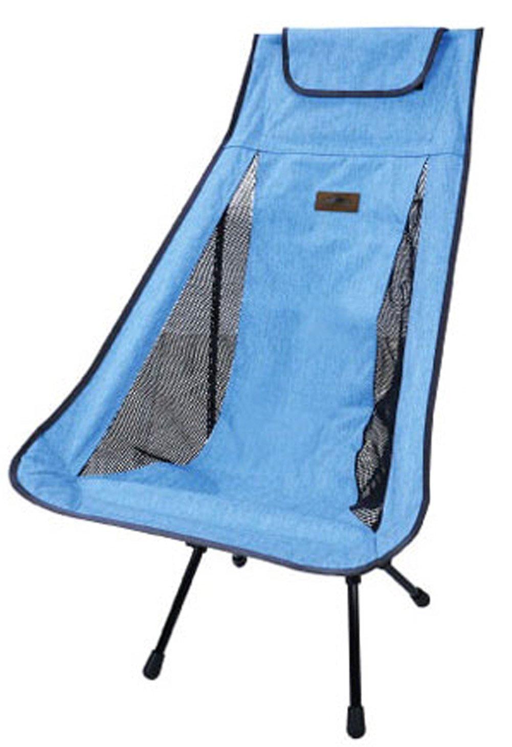 [スノーライン] Snowline Kimi キミチェア キャンピング椅子 リラックスチェア 専用収納かばん アルミニウム7075 海外直送品 (Camping chair Relax chair Storage bag Aluminum 7075) B0755HT1N9 ブルー ブルー