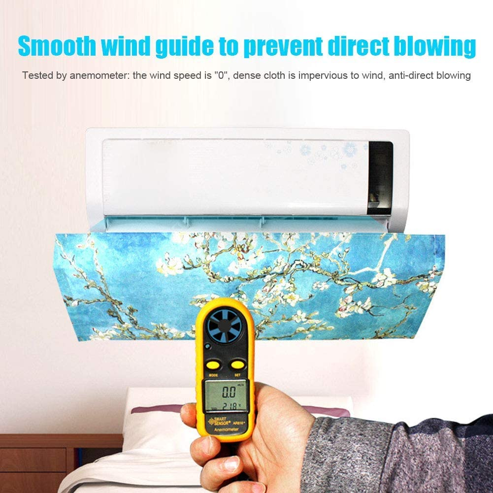 Albero Small Vaugan Aria Condizionata Wind Shield Angolo Regolabile per Camera da Letto Casa a Parete Condizionatore dAria Condizionatore dAria Deflettore