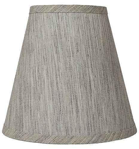 Urbanest Hardback Linen Empire Lamp Shade 5-inch by 9-inch by 8.5-inch, Storm