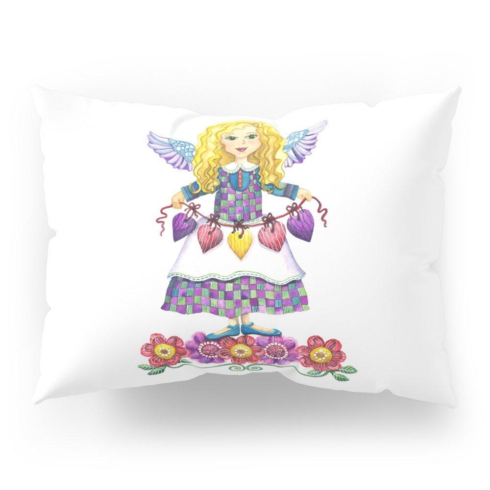 Society6 Angel Love Pillow Sham Standard (20'' x 26'') Set of 2