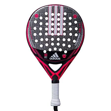 Adidas Adipower Junior Girl 1.9 - Pala de Pádel, Rosa, 360