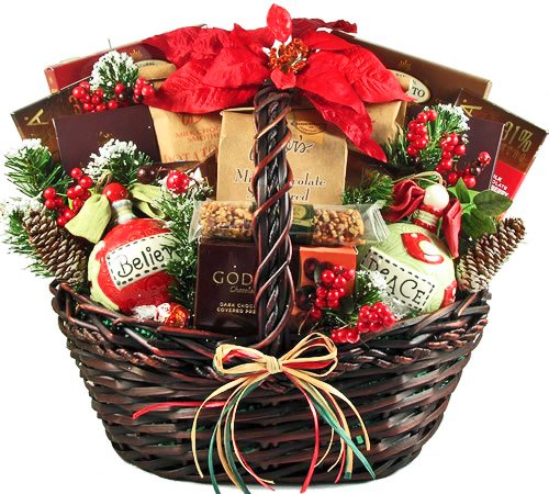 Logs Caramel Pecan (Home for the Holidays Christmas Gift Basket)
