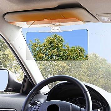 Amazon Com Yrd Tech Car Sun Visor Anti Glare Blocker Uv Fold Flip