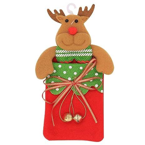 likeitwell Bolsa de Caramelos de Navidad/Bolsa Regalo de ...