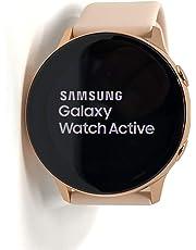 Samsung Galaxy Watch Active – 40 mm, IP68 Resistente al Agua, Carga inalámbrica, SM-R500N versión Internacional (Android/iOS), Rose Gold