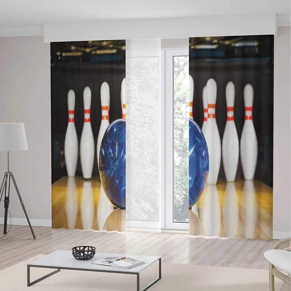 Merveilleux Amazon.com: YOLIYANA Windows Blackout Curtain,Bowling Party ...